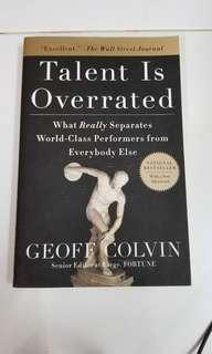 Talent Is Overrated Geoff Colvin