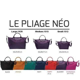 YEAREND CLEARANCE SALES!!Authentic Longchamp Le Pliage Neo Small & Medium Handbag