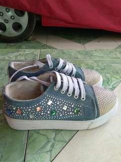 Denim Sneakers wanita