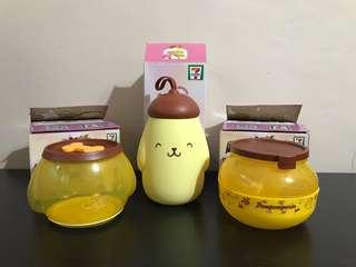 7-11 7-Eleven Sanrio Characters Lock & Go Ice Pop Water Bottle & Container (Set Of 3)