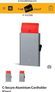 C secure card holder