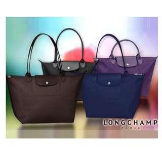 CLEARANCE SALES!Authentic Longchamp Planètes Tote Bag Large & Medium