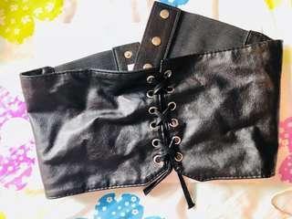 Mirrou soft leather waist belt s/m