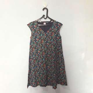 🌸 sleeve less dress 🌸 -Uniqlo