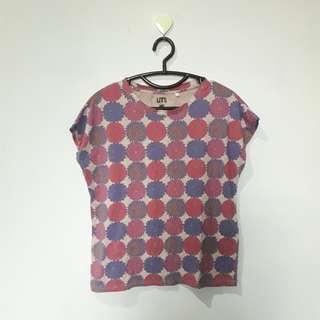 🌸 flower pattern shirt 🌸 -Uniqlo