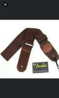 Brand new 2pcs guitar fender strap (gd quality