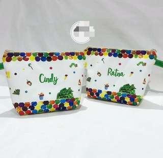 Handmade Kids Birthday Pouch