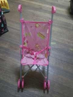 Preloved Baby Doll Stroller and High Chair