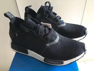 de0590b9b63c1 100% 全新已停產Adidas NMD R1 Primeknit BLACK PK Japan Boost 黑S81847 UK7