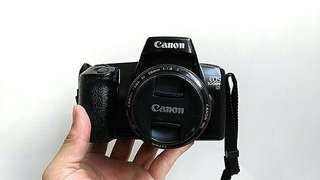 Canon SLR Film Camera 1000F N with 50mm F1.8 Lens
