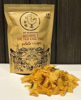 新加坡🇸🇬「金鴨」鹹蛋洋芋片