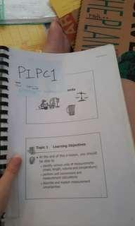 TP/PHS- PHYSICAL INORGANIC AND PHYSICAL CHEMISTRY [PIPC)