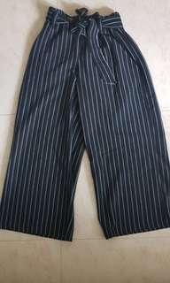 Culottes Striped