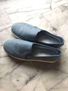 Skecher street star glitter memory foam shoe