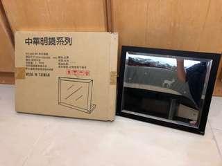 🚚 中華明鏡_KC-002 BR 和式桌鏡