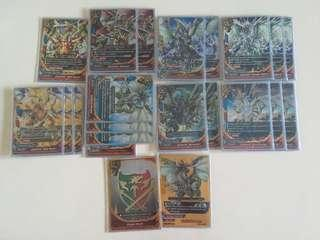 Buddyfight Jackknife gold ritter deck