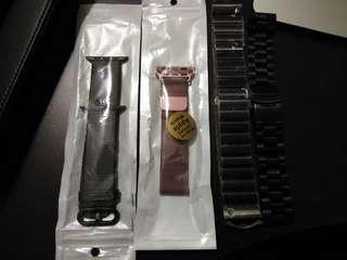 Apple watch bands, garmin bracelet n metal bracelet