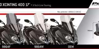 PUIG Windshield V-TECH Line Touring for Kymco XCITING S400i 2018