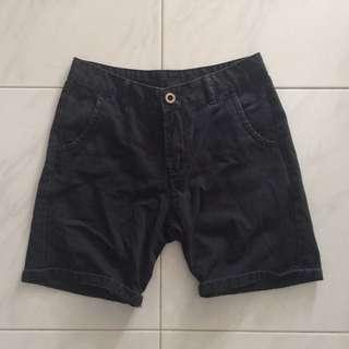 Men's Black Shorts/ Berms