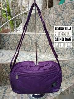 Beverly hills polo club sling bag