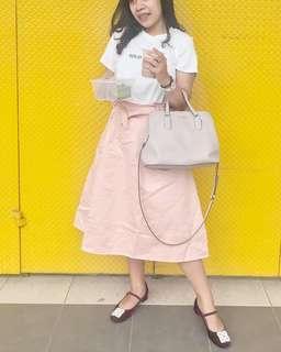 Cotton ink skirt