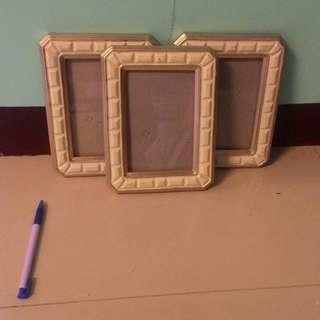 簡約方格紋相框
