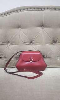 Aigner Red Clutch