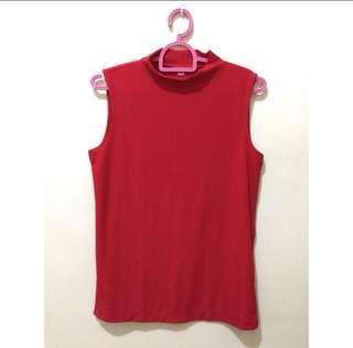 Repriced! Uniqlo Red Top