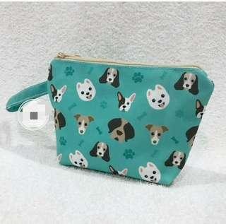 Dog pouch Personalised name