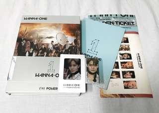 Wanna One POD Adventure Ver Bae Jinyoung Full Set