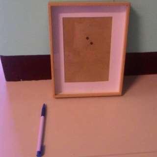 樺木紋IKEA相框