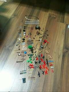 Lego random pieces/assortments/weapons