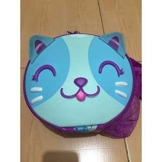 Authentic Smiggle Cat sling bag / lunch bag