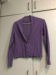 🚚 G2000紫色外套 So nice上衣