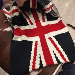 🚚 英國風圍巾