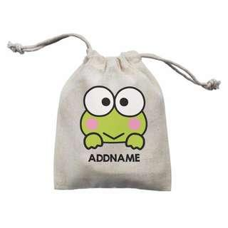 #1212 Buy 5 $6/each Personalised Cartoon Drawstring Pouch