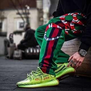 INSTOCK US7-12.5 Adidas Yeezy Boost 350 V2 Frozen Yellow Yebra