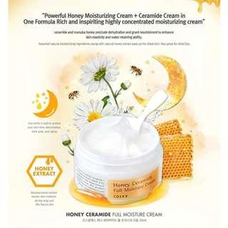 現貨❤包郵~COSRX Honey Ceramide Full Moisture Cream 蜂蜜全效保濕面霜50ml