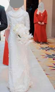 For rent reception dress