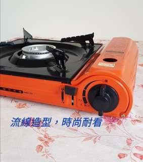 🚚 【翔玲小舖】(2台優惠區)妙管家超薄型休閒瓦斯爐 HKR-701 橘彩休閒爐
