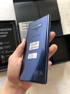 Samsung Note 9 Sein Fullset Like new termurahhhh
