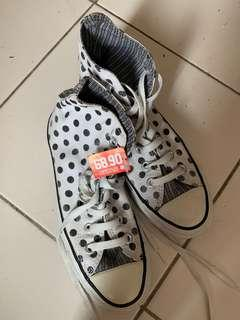 CONVERSE Highcut Polka Dots Shoe