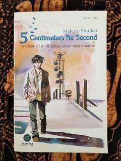 Novel 5 Centimeters Per Second