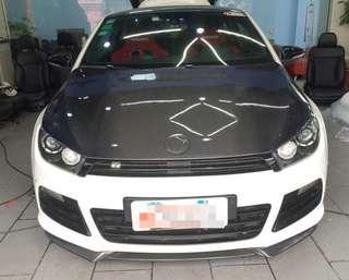 VW SCIROCCO CF Hood