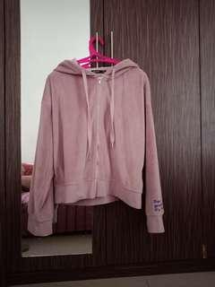 SALE!!!  Bershka hoody jacket peach