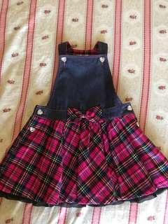 🚚 俏麗女童背心裙裝