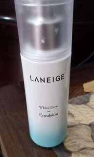 LANEIGE WHITE DEW EMULSION 100ml (isi 90%++) Jual Rugi