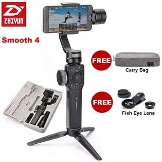 🚚 Zhiyun Smooth 4 3-Axis Handheld Gimbal Stabilizer for Smartphone Mobile Phone