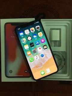 i Phone X 64G Black