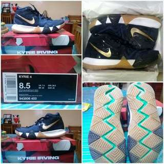 fe09e0536fe3ce NIKE KYRIE 4 PITCH BLUE AUTHENTIC TITAN RELEASED SIZE 8.5 US BASKETBALL  SHOES